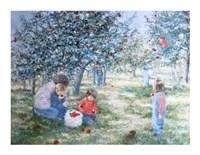 Picking Apples Fine-Art Print