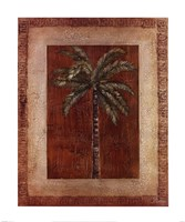 Palm With Border I Fine-Art Print