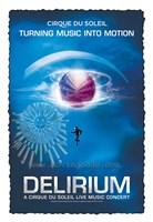 Cirque du Soleil - Delirium, c.2006 Wall Poster