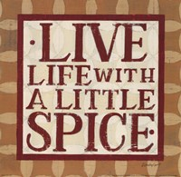 Live Life Fine-Art Print