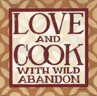 Love and Cook Fine-Art Print