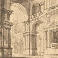 Portico Antico I Fine-Art Print