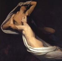 Amor And Psyche Fine-Art Print
