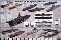 Aircraft Carrier Evolution Fine-Art Print
