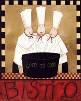 3 Chefs Soup Bistro 1 Fine-Art Print