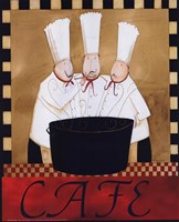 3 Chefs Soup Bistro 2 Fine-Art Print
