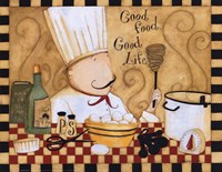 Good Food Good Life Fine-Art Print