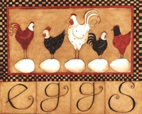 Eggs in a row Fine-Art Print