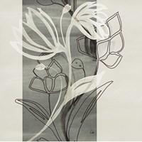 Petal Silhouettes 1 Fine-Art Print