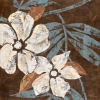 Flowers on Chocolate I Fine-Art Print