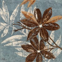 Flowers on Denim IV Fine-Art Print
