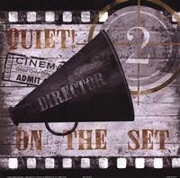 Quiet on the Set Fine-Art Print