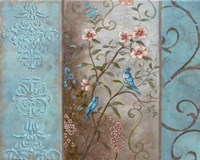 Elegance en Soie Bleue I Fine-Art Print