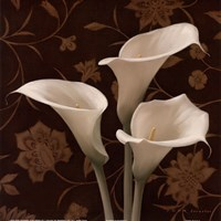 Flores Elegante I Fine-Art Print