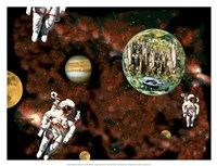 Astronaut View Fine-Art Print