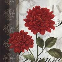 Etude en Rouge I - mini Fine-Art Print