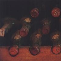 Vintage Wine Cellar I Fine-Art Print