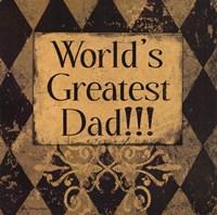 Worlds Greatest Dad Fine-Art Print