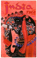 India - Fly TWA Fine-Art Print