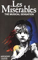Les Miserables (Broadway) - style A Fine-Art Print