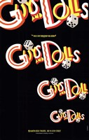 Guys and Dolls (Broadway) - style A Fine-Art Print