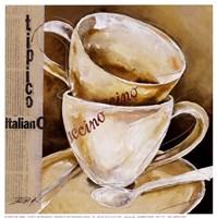 Due Cappuccino Fine-Art Print