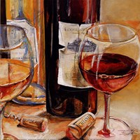 Red Wine for Two Fine-Art Print
