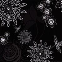 Shadow Lace Floral Fine-Art Print