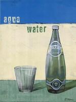 Aqua Minerale Fine-Art Print