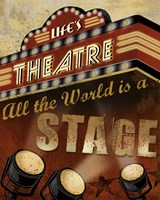 Life's Theatre Fine-Art Print