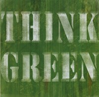 Think Green Fine-Art Print
