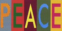 Peace - Bright Colors Fine-Art Print