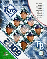 2009 Tampa Bay Rays Team Composite Fine-Art Print
