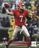 Matt Stafford Georgia Bulldogs 2008 Action Fine-Art Print