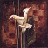 Ochre Ajedrez II Fine-Art Print