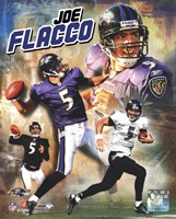 Joe Flacco 2009 Portrait Plus Fine-Art Print