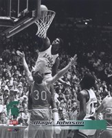 Magic Johnson Michigan State Fine-Art Print