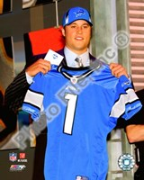 Matt Stafford 2009 Draft Day Fine-Art Print