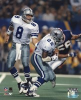 Troy Aikman / Emmitt Smith Fine-Art Print
