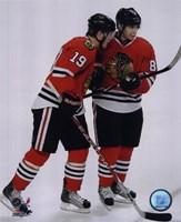 J.Toews / P.Kane - 2009 Playoffs Fine-Art Print