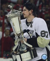 Sidney Crosby With the 2008-09 Prince of Wales Trophy Fine-Art Print