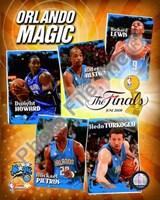 """2009 Finals - Magic """"Big 5"""" Fine-Art Print"""