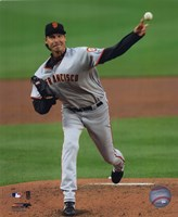 Randy Johnson - 2009 Pitching Action Fine-Art Print