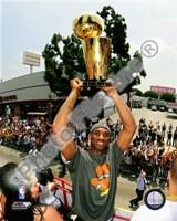 Kobe Bryant 2009 NBA Championship Victory Parade  (#38) Fine-Art Print