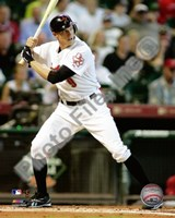 Hunter Pence - 2009 Batting Action Fine-Art Print