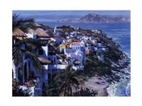 Hillside Villas Fine-Art Print