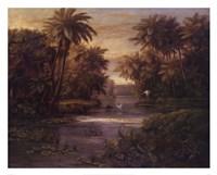 Lagoon At Daybreak Fine-Art Print