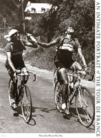 Archrivals Gino Bartali and Fausto Coppi Fine-Art Print