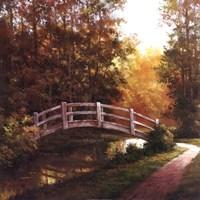 Wooden Bridge II Fine-Art Print
