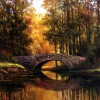 Stone Bridge Over Water Fine-Art Print